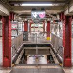In der Subway Station 5th Avenue & 42 Street.