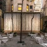 Caféterrasse in Manhattan.