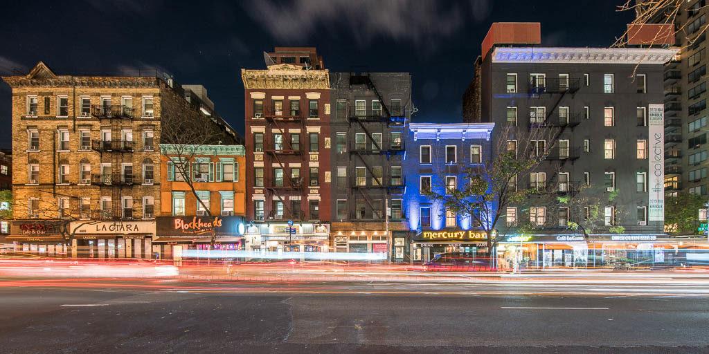 Häuseransicht 3rd Avenue