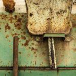 Kehrschaufel, Wurzelbürste und Besen