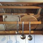 Holzbretter in der Küche