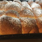 Frische Buchten aus dem Ofen