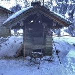 Der Holzbackofen auf der Kalchkendlalm