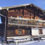 Die Kalchkendlalm in der Wintersonne