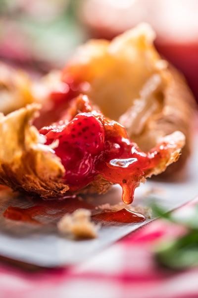 Erdbeer-Rhabarber-Marmelade final