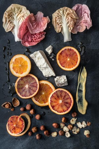 Radicchio Salad Ingredients