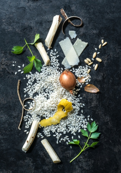 Salsify Risotto Ingredients
